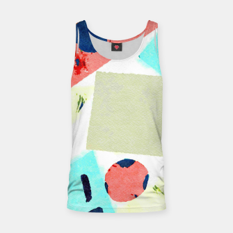 Thumbnail image of Composition Tank Top, Live Heroes