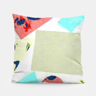 Thumbnail image of Composition Pillow, Live Heroes