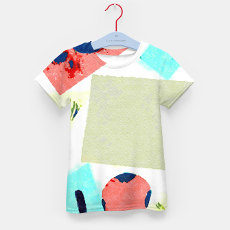 Thumbnail image of Composition Kid's t-shirt, Live Heroes