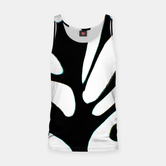 Thumbnail image of black and white abstract geometric digital art Tank Top, Live Heroes