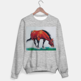 Thumbnail image of horse by dry pastel Bluza standard, Live Heroes