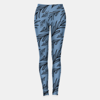 Thumbnail image of Feeling of lightness III - Steel Blue Leggings, Live Heroes