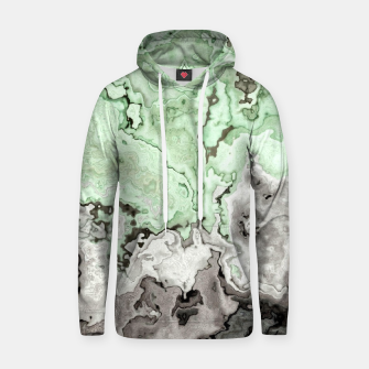 Thumbnail image of grey and green marble abstract digital painting Hoodie, Live Heroes