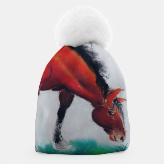 Miniatur horse by dry pastel Czapka, Live Heroes