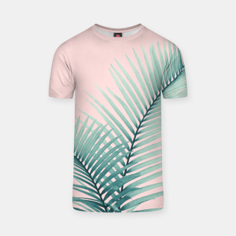 Thumbnail image of Intertwined - Palm Leaves in Love #2 #tropical #decor #art T-Shirt, Live Heroes