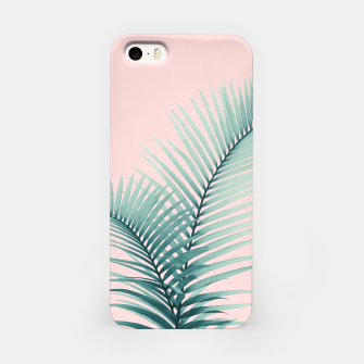 Thumbnail image of Intertwined - Palm Leaves in Love #2 #tropical #decor #art iPhone-Hülle, Live Heroes