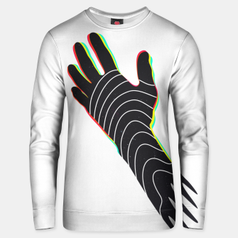 Thumbnail image of Left-handed Unisex sweater, Live Heroes