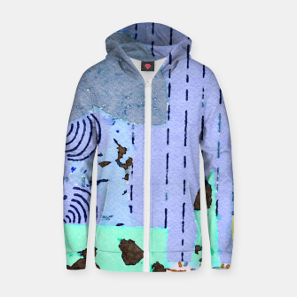 Thumbnail image of Grass Zip up hoodie, Live Heroes