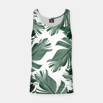 Miniaturka Tropical Banana Leaves Pattern #3 #tropical #decor #art Muskelshirt , Live Heroes