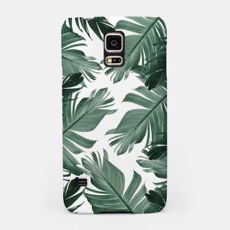 Thumbnail image of Tropical Banana Leaves Pattern #3 #tropical #decor #art Handyhülle für Samsung, Live Heroes