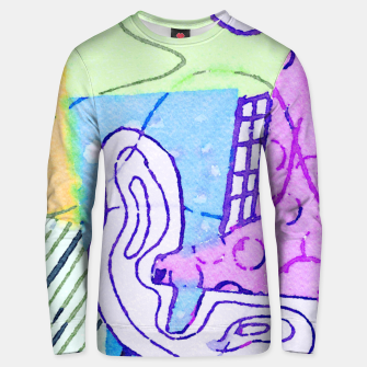 Thumbnail image of Uproar Unisex sweater, Live Heroes
