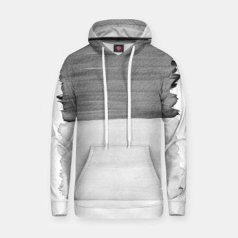 Thumbnail image of Gray Black White Abstract Minimalism #1 #minimal #ink #decor #art Kapuzenpullover, Live Heroes