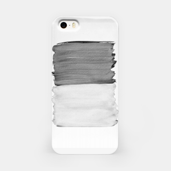 Thumbnail image of Gray Black White Abstract Minimalism #1 #minimal #ink #decor #art iPhone-Hülle, Live Heroes
