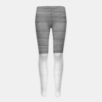 Thumbnail image of Gray Black White Abstract Minimalism #1 #minimal #ink #decor #art Kinder-Leggins, Live Heroes