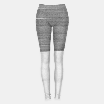 Thumbnail image of Gray Black White Abstract Minimalism #1 #minimal #ink #decor #art Leggings, Live Heroes