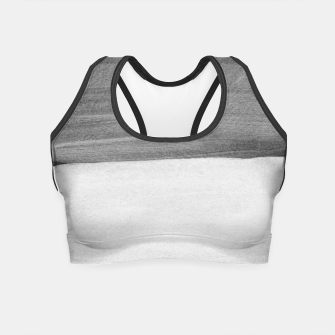 Thumbnail image of Gray Black White Abstract Minimalism #1 #minimal #ink #decor #art Crop Top, Live Heroes