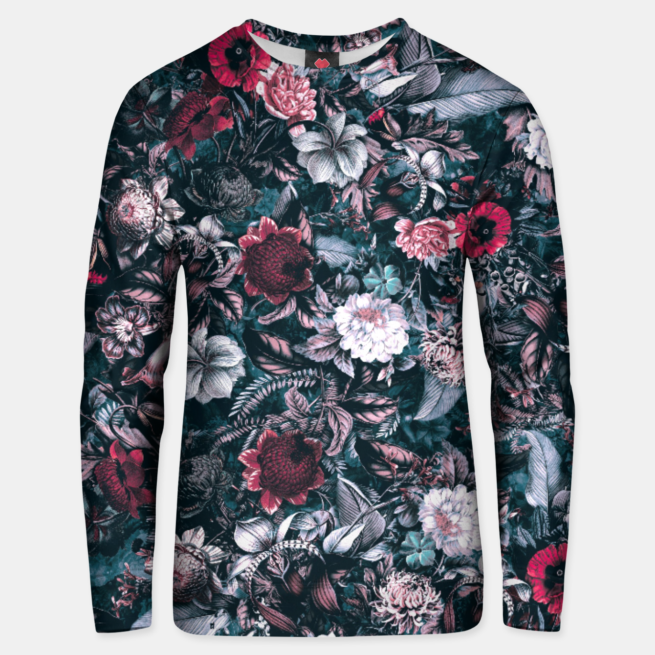 Image of Blue Garden Unisex sweater - Live Heroes