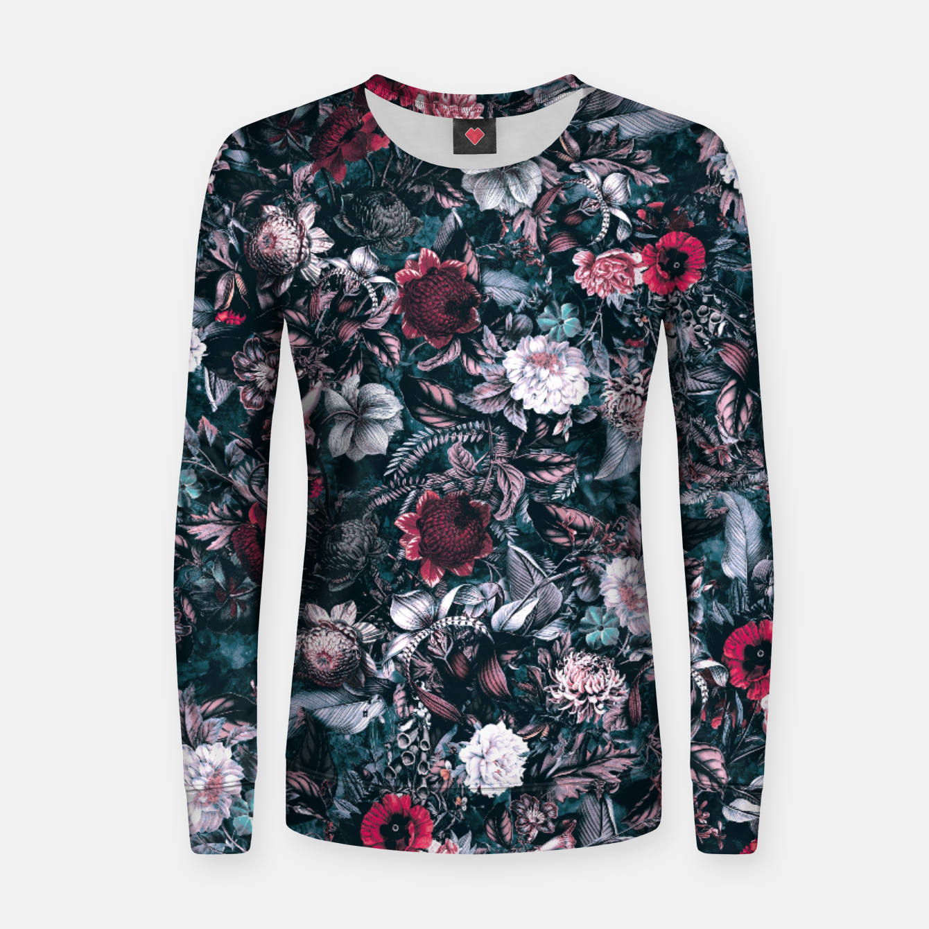 Image of Blue Garden Women sweater - Live Heroes