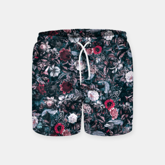 Blue Garden Swim Shorts miniature
