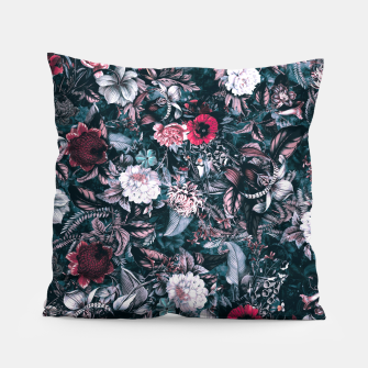 Blue Garden Pillow miniature