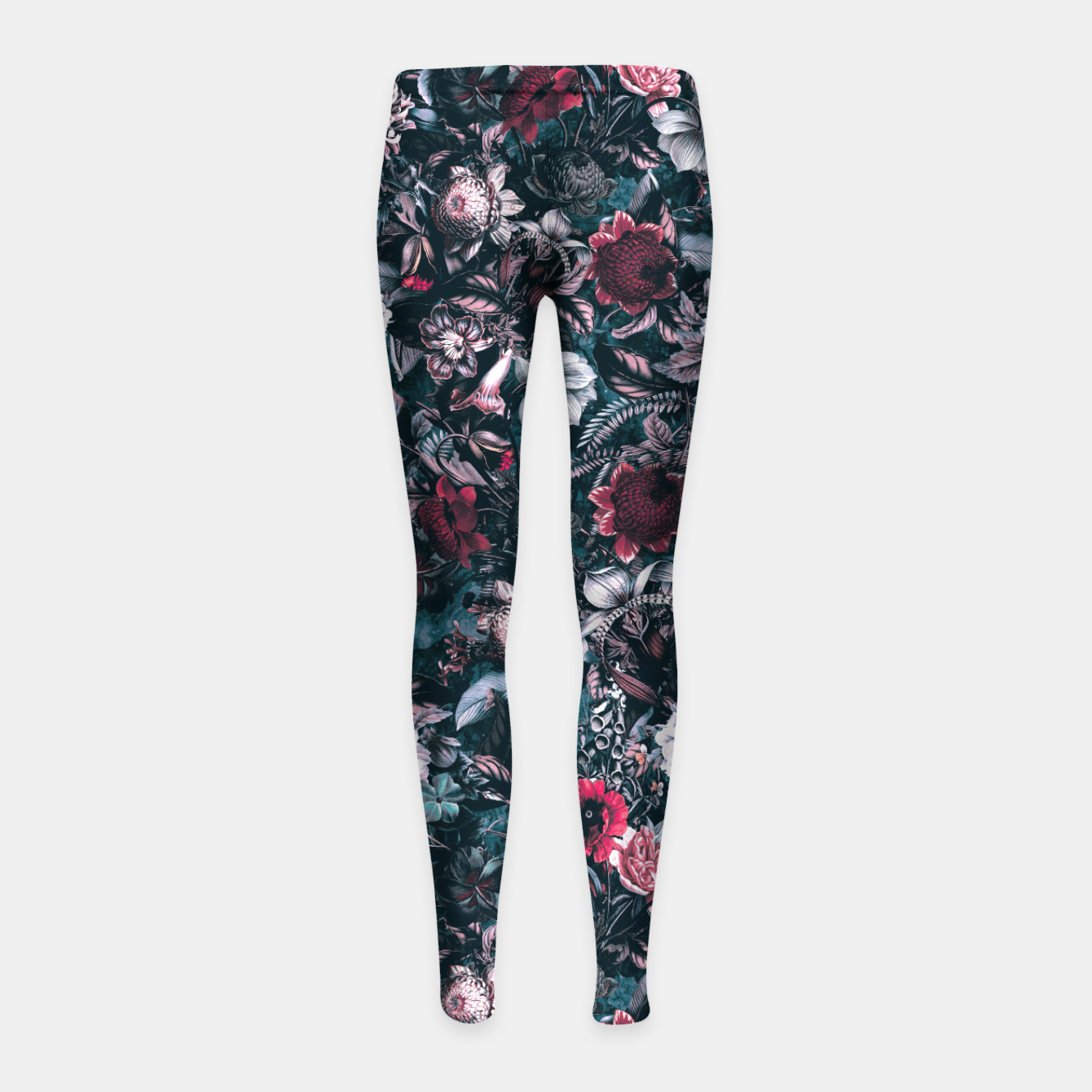 Image de Blue Garden Girl's leggings - Live Heroes