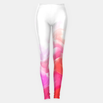 Thumbnail image of Rainbow smoke falling down, positive energy colorful pattern glitch Leggings, Live Heroes