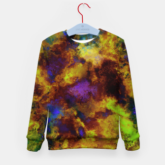 Thumbnail image of Background noise Kid's sweater, Live Heroes