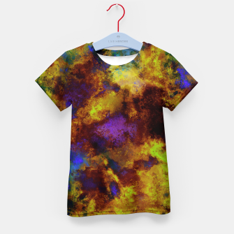 Thumbnail image of Background noise Kid's t-shirt, Live Heroes