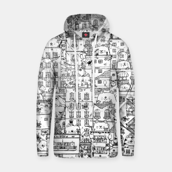 Thumbnail image of City of Cats Hoodie, Live Heroes