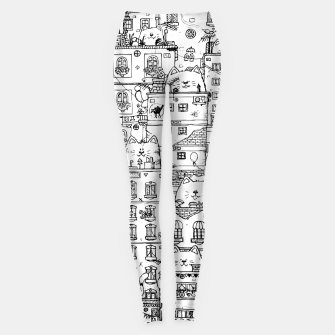 Thumbnail image of City of Cats Leggings, Live Heroes