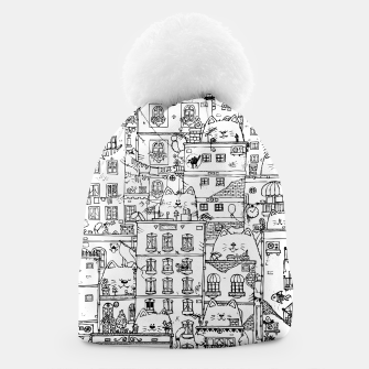 Thumbnail image of City of Cats Beanie, Live Heroes