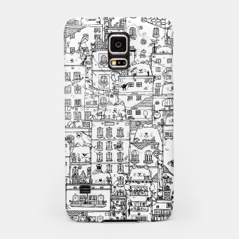 Thumbnail image of City of Cats Samsung Case, Live Heroes