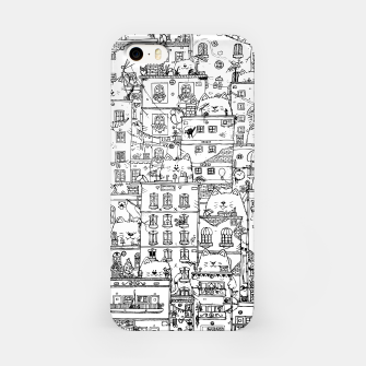 Thumbnail image of City of Cats iPhone Case, Live Heroes