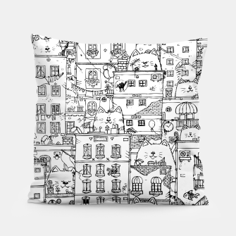 Thumbnail image of City of Cats Pillow, Live Heroes