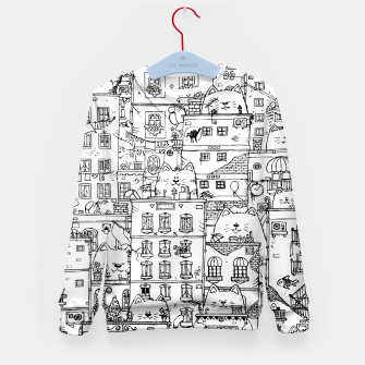 Thumbnail image of City of Cats Kid's sweater, Live Heroes