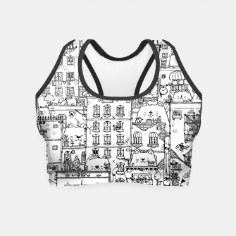 Thumbnail image of City of Cats Crop Top, Live Heroes