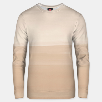 Thumbnail image of Touching Warm Beige Watercolor Abstract #1 #painting #decor #art  Unisex sweatshirt, Live Heroes