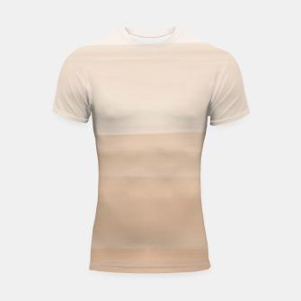 Miniaturka Touching Warm Beige Watercolor Abstract #1 #painting #decor #art  Shortsleeve rashguard, Live Heroes