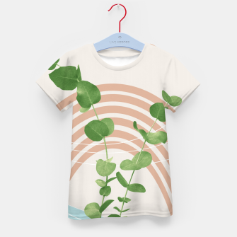 Thumbnail image of Eucalyptus Rainbow Oasis #1 #tropical #wall #art  T-Shirt für kinder, Live Heroes