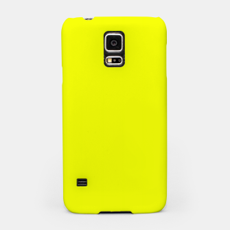 Thumbnail image of Pantone Safety Yellow neon bright stylish pure color Samsung Case, Live Heroes