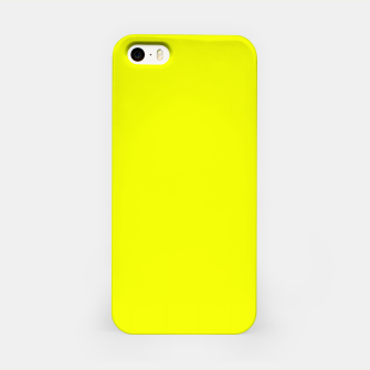 Thumbnail image of Pantone Safety Yellow neon bright stylish pure color iPhone Case, Live Heroes