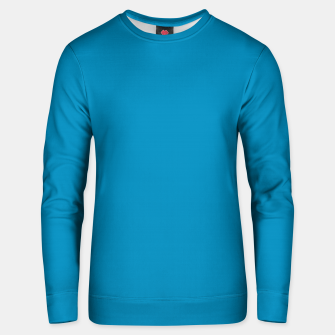 Thumbnail image of Pantone neon color Atomic Blue navy pure colour fashion summer Unisex sweater, Live Heroes