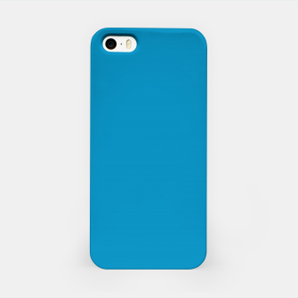 Thumbnail image of Pantone neon color Atomic Blue navy pure colour fashion summer iPhone Case, Live Heroes