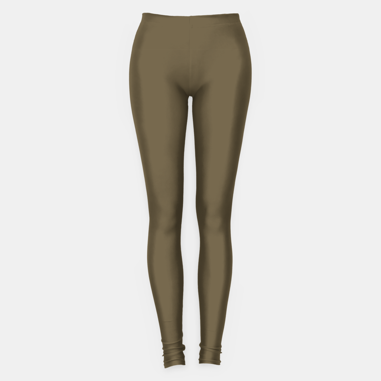 Image of Pantone Military Olive pure clear green tone dark colour Autumn/Winter 2020/2021 London Leggings - Live Heroes