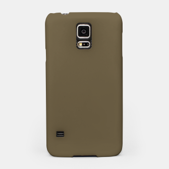 Thumbnail image of Pantone Military Olive pure clear green tone dark colour Autumn/Winter 2020/2021 London Samsung Case, Live Heroes