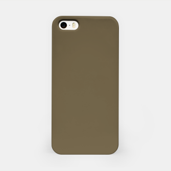 Thumbnail image of Pantone Military Olive pure clear green tone dark colour Autumn/Winter 2020/2021 London iPhone Case, Live Heroes