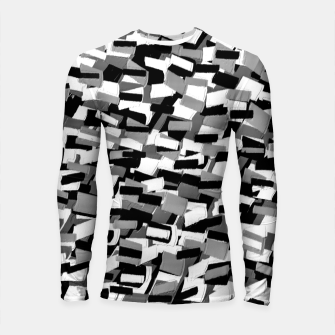Thumbnail image of Grey Values  Longsleeve rashguard, Live Heroes