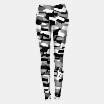 Thumbnail image of Grey Values  Leggings, Live Heroes
