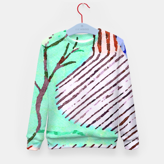 Thumbnail image of Weather Kid's sweater, Live Heroes
