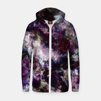 Thumbnail image of Lost in thought Zip up hoodie, Live Heroes